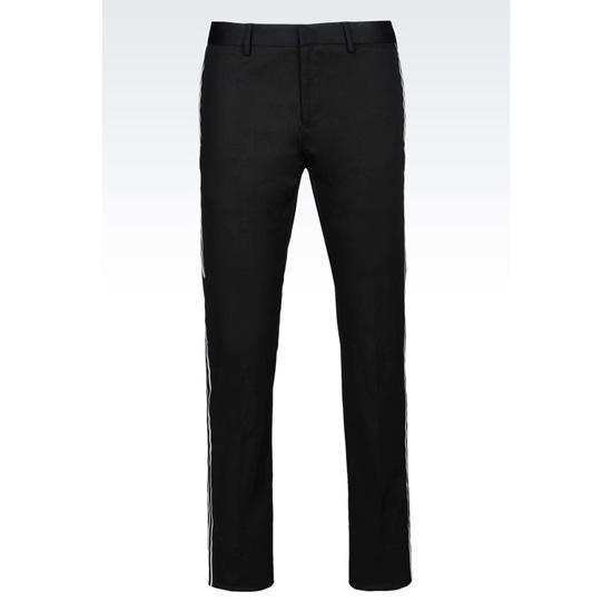 ARMANI RUNWAY TROUSERS IN STRETCH COTTON