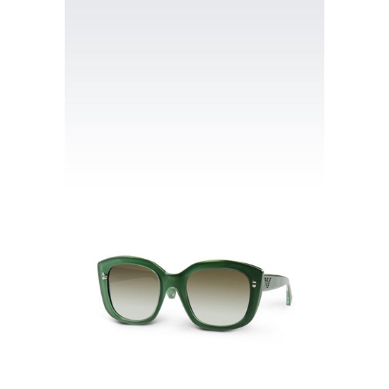 ARMANI SUNGLASSES WITH SQUARE GRADUATED LENSES
