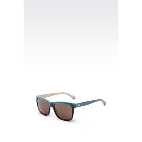 ARMANI SUNGLASSES IN ACETATE AND METAL