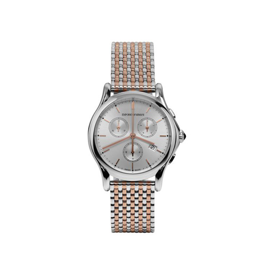 ARMANI SWISS MADE CRONOGRAPH WATCH