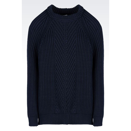 ARMANI SWEATER IN COTTON BLEND