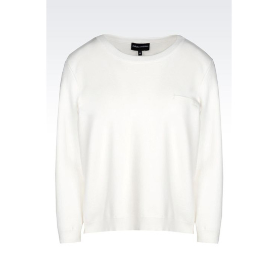 ARMANI SWEATER IN VISCOSE BLEND