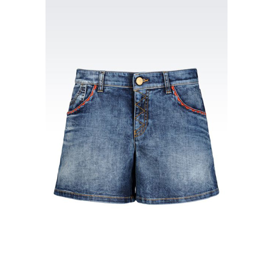 ARMANI DENIM SHORTS