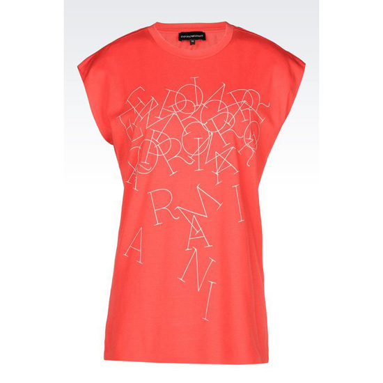 ARMANI T-SHIRT IN PRINTED JERSEY