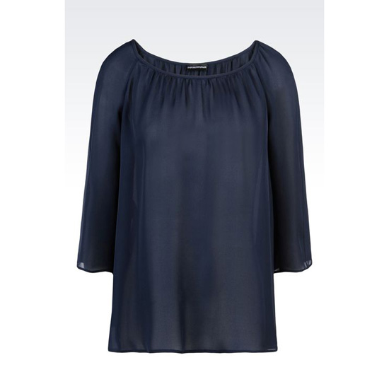 ARMANI BLOUSE IN SILK GEORGETTE