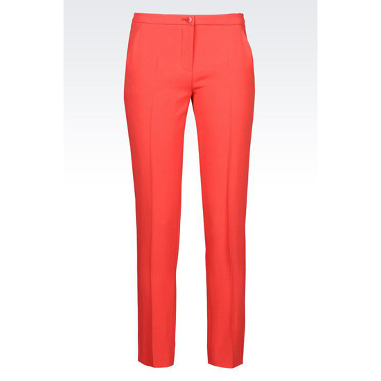 ARMANI TROUSERS IN CADY