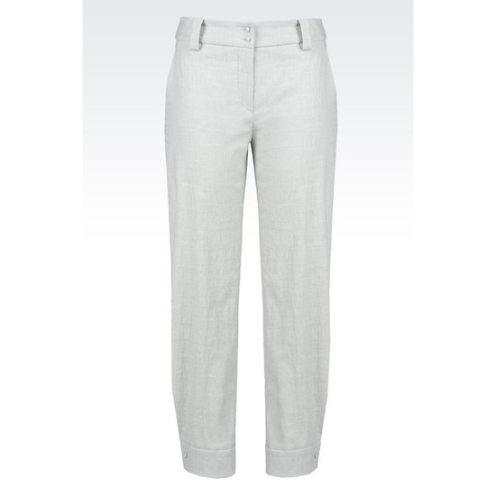 ARMANI RUNWAY TROUSERS IN COTTON BLEND