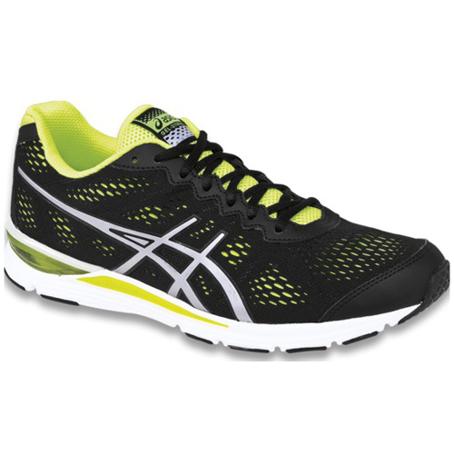 Men's ASICS GEL-CUMULUS® 16 9001 - Black/White/Flash Yellow