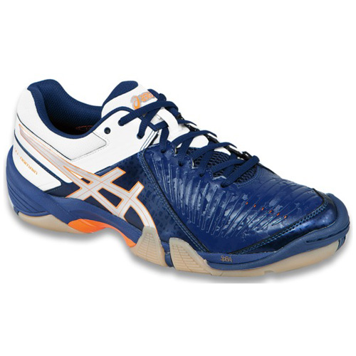 Men's ASICS GEL-UNIFIRE™ TR 0193 - White/Silver/Blue