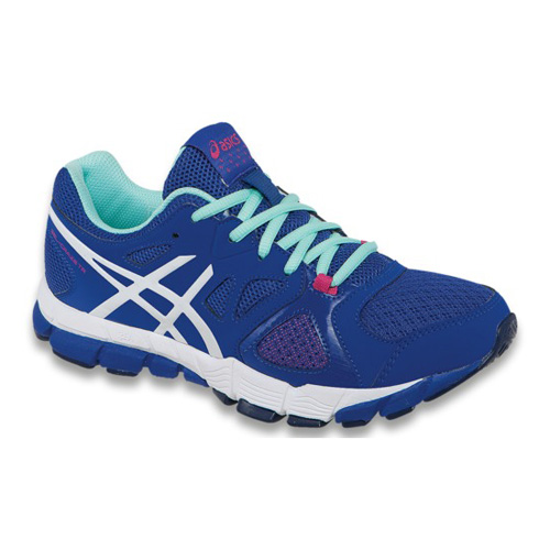 Women's ASICS GEL-SENDAI™ 2 3635 - Purple/Hot Pink/Flash Yellow