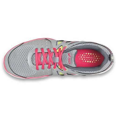 Women\'s ASICS GEL-SUSTAIN™ TR 2 1521 - Moon/Raspberry/Sun