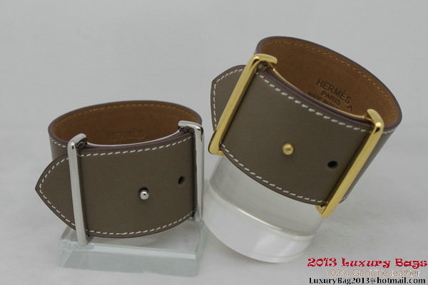 Hermes Genuine Leather Bracelet H1140_4