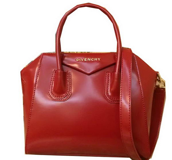 Givenchy Small Antigona Bag Patent Leather G2800 Red