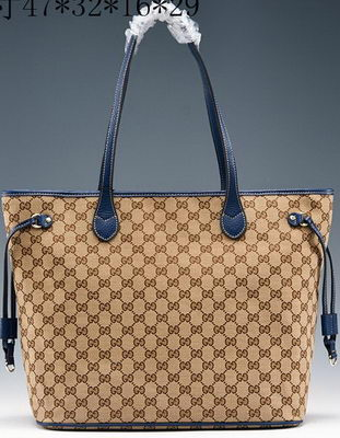 Gucci Original GG Canvas Top Handle Bag 368590 Royal