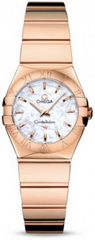 Omega Constellation Polished Quarz Mini Watch 158637K