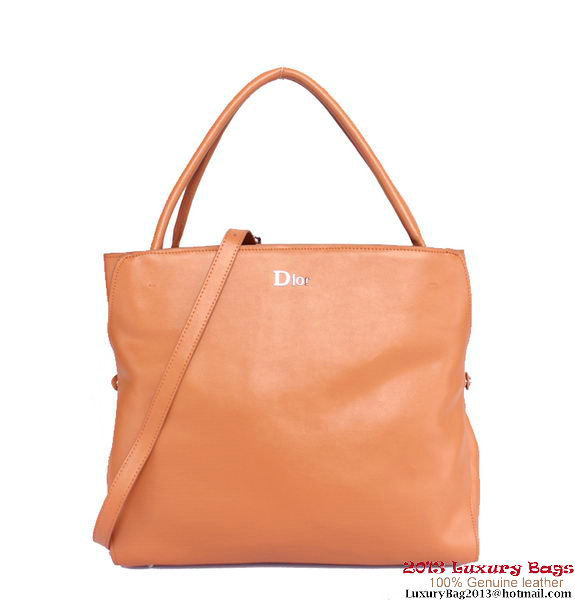 Dior DiorBar Large Top Handle Bag DR8800 Camel