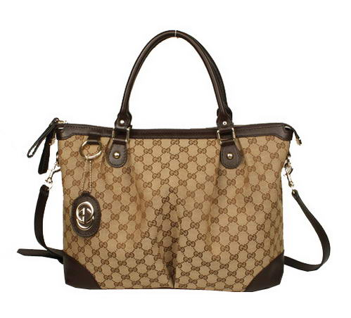 Gucci 285730 FAFXG 9643 Large Sukey Top Handle Bag Brown