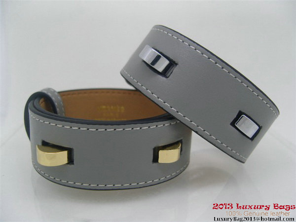 Hermes Genuine Leather Bracelet H1131_2