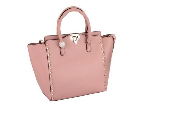 Valentino Garavani Rockstud Double Handle Bag VO1912 Pink