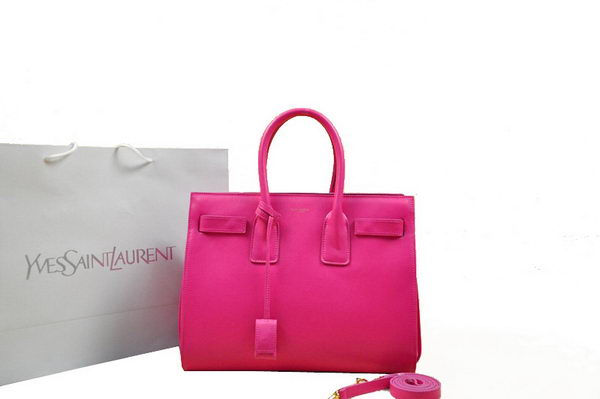 Yves Saint Laurent Classic Sac De Jour Bag in Original Leather 2045 Rose