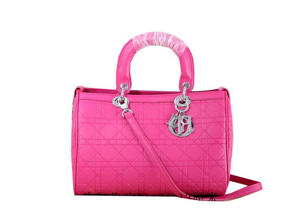 Dior Granville Polochon Bag in Lambskin Leather CD0919 Rose