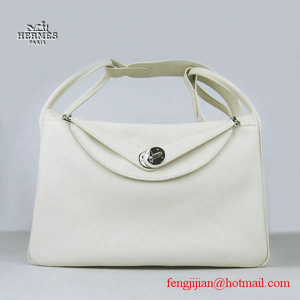 Hermes Women Shoulder Bag Beige 6208