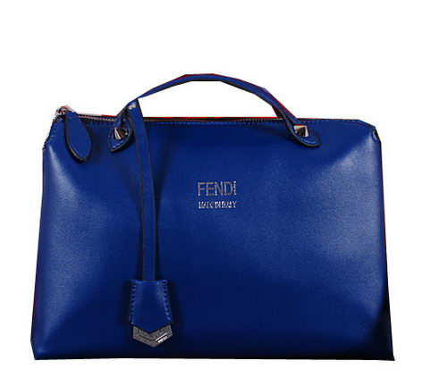 Fendi BY THE WAY Bag Calfskin Leather FD2353 Blue