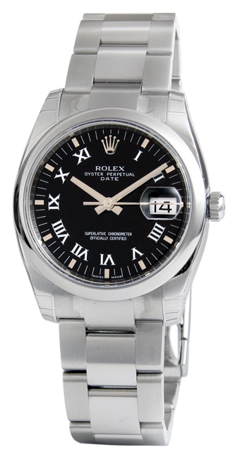 Rolex Datejust Series Fashionable Mens Automatic Watch 115200-BKRO