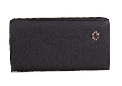 Gucci Original Grainy Leather Clutches G18012B Black