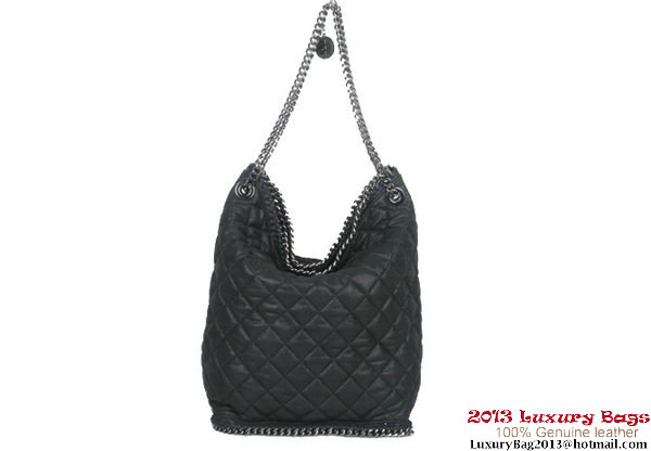 Stella McCartney Falabella Bucket Bag 816 Black