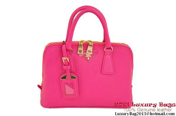 Prada Saffiano 26cm Two Handle Bag BL0838 Rose