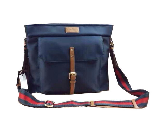 Gucci Nylon Messenger Bag 256312 RoyalBlue