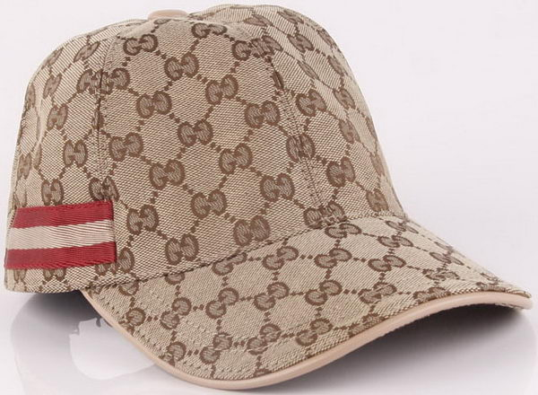 Gucci Peaked Cap GG47 Apricot
