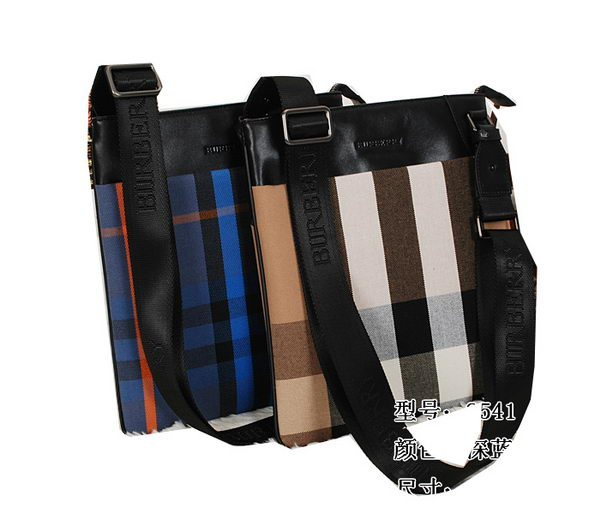 BurBerry Mens Messenger Bag in Canvas B8541