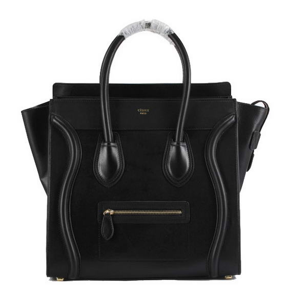 Celine Luggage Bags Jumbo in Oxhide Black