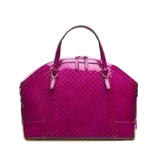 Gucci Nice Patent Microguccissima Top Handle Bag 309614 Rosy