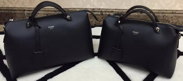 Fendi BY THE WAY Bag Calfskin Leather F55208 Black