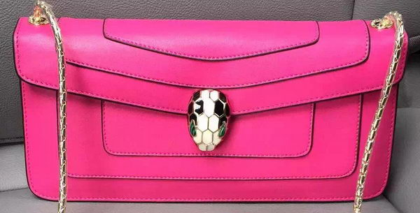 BVLGARI Shoulder Bag Calfskin Leather BG90071 Rose