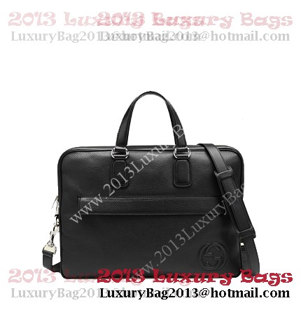 Gucci Briefcase in Calf Leather 322057 Black