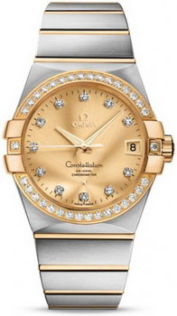 Omega Constellation Chronometer 38mm Watch 158630S