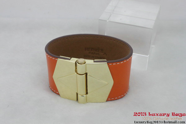 Hermes Genuine Leather Bracelet H1144_1