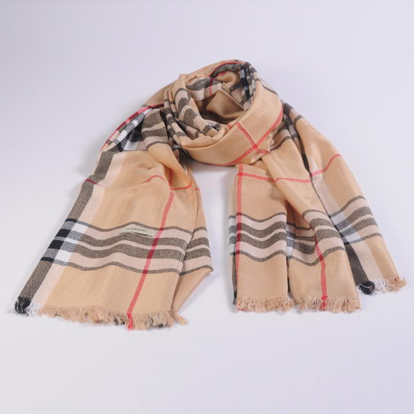 Burberry Scarves Cashmere WJBUR16 Apricot