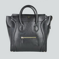 Celine Luggage Jumbo Woman Handbag 98170 Black