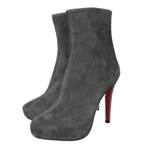 Christian Louboutin Alta Arielle Ankle Boots Grey