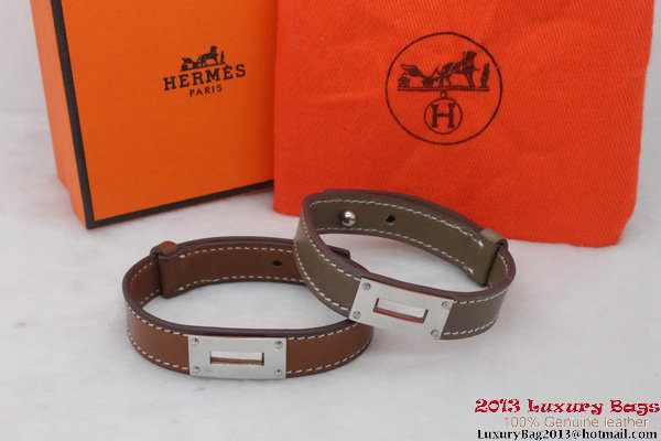 Hermes Genuine Leather Bracelet H1145_3