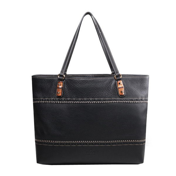 Gucci Laidback Crafty Original Leather Tote Bag 339000 Black