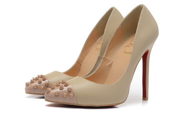 Christian Louboutin Geo Pump 120mm CL1310 Apricot Sheepskin