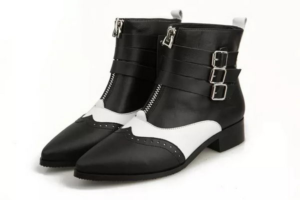 Dior Sheepskin Leather Ankle Boot DIOR0221 Black
