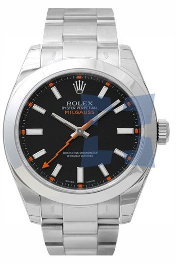 Rolex Milgauss Series Fashionable Mens Automatic Watch 116400B