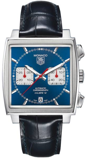 Tag Heuer Monaco Series Fashionable and Practical Calibre 12 Mens Automatic Watch-CAW2111.FC6183